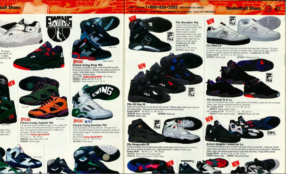 1996 reebok basketball shoes
