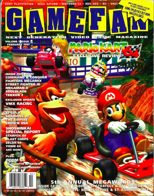 Old magazines gamefan february 1997 blog of andy hunt for Old magazines